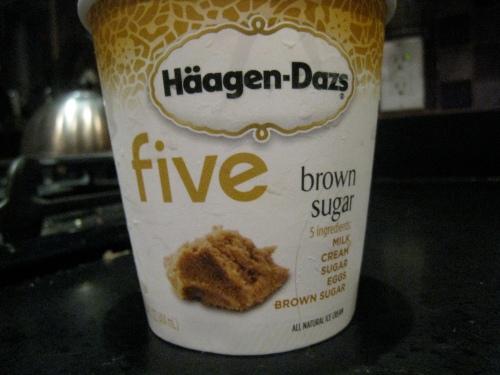 Häagen-Dazs Five Brown Sugar