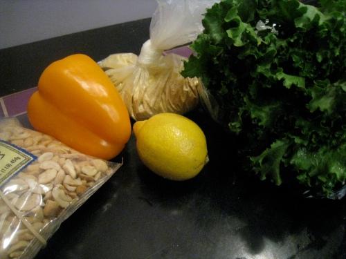 Kale Chip Ingredients