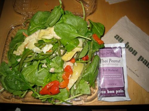 Au Bon Pain salad