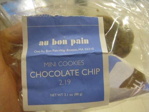 Au Bon Pain cookies