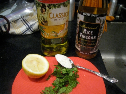 Coconut Mint Dressing