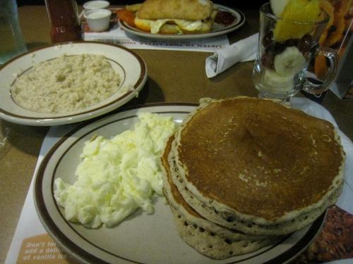 Grand Slam Breakfast: Before